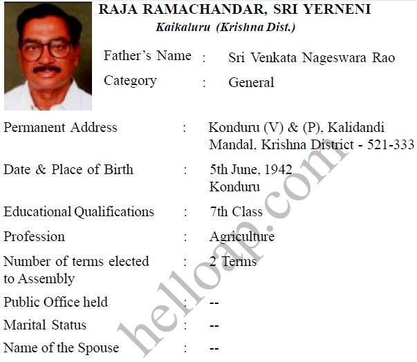 Y Raja Ramachandar