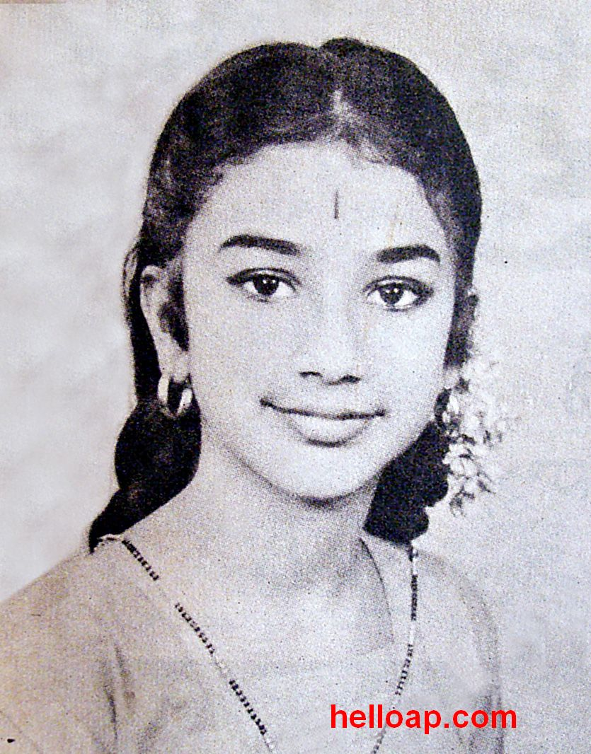 Tollywood Actress Manjula Childhood Photo