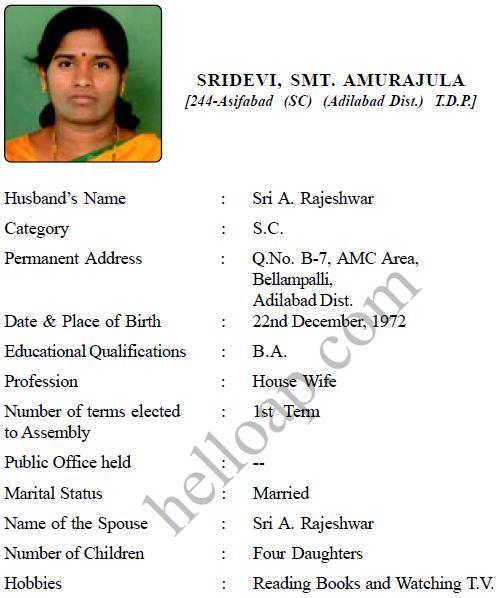 A Sridevi of TDP