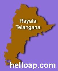 Rayala Telangana Map