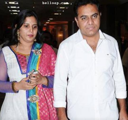 KTR Biodata and his Family Photos – Hello AP and Telangana