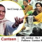 Anna Canteens in Andhra Pradesh