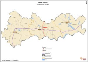 Nirmal district map