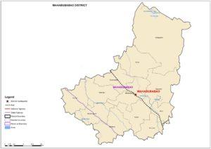 Mahabubabad map