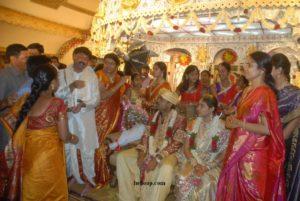 Bhuma Akhila Priya Marriage Photo
