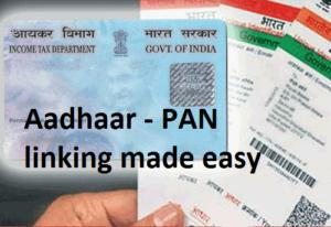 PAN and Aadhaar Link