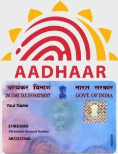 aadhaar pan link
