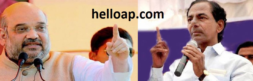 BJP and TRS