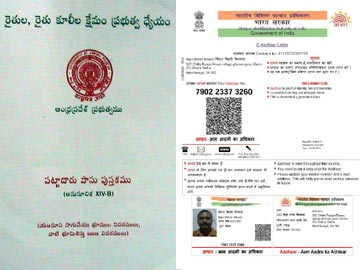 Pattadar passbook in AP