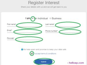 Jio Phone Registration