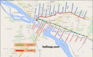 Vijayawada Metro Map
