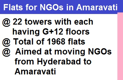 NGO Flats in AP Capital Amaravati
