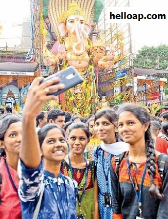 Selfie with Ganesha