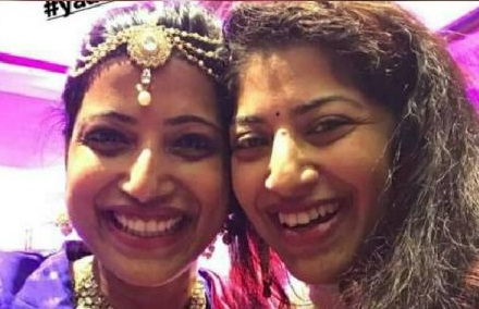 Amrapali with her sister